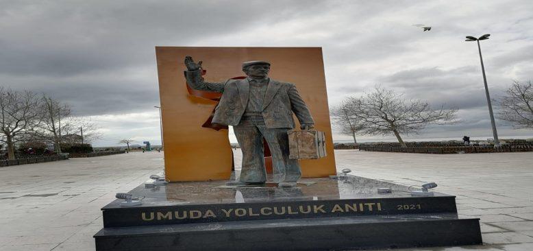 EMEK GÖÇÜNÜN ANITI 18.06.2021'DE ISTANBUL/KADIKÖY PARKTA AÇILIYOR