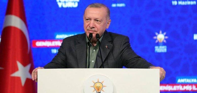 Erdoğan: Hedefimiz 2019'daki 52 milyonluk turist sayısına ulaşmak