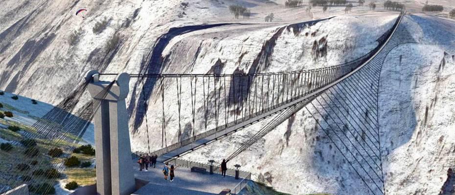 'Sırat on Fırat' köprüsünden geçmek yürek işi