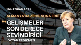 Merkel: Gelişmeler son derece sevindirici