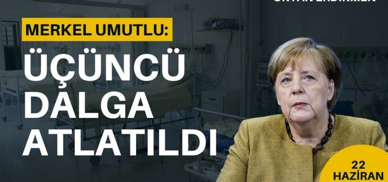 Merkel umutlu: Üçüncü dalga atlatıldı
