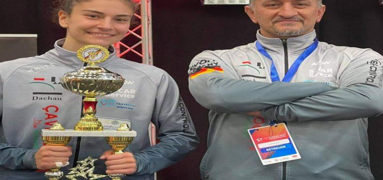 Ela Aydın 10. kez Almanya Taekwondo Şampiyonu