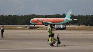 Antalya'da hava yolu trafiği haziranda hareketlendi