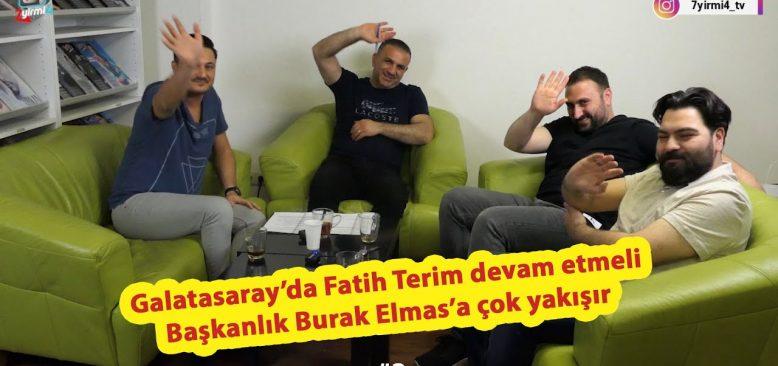 Galatasaray'da başkanlığa Burak Elmas yakışır