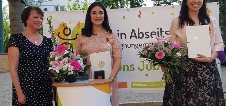 Sinem Alparslan, Alman Devlet Liyakat Madalyası Aldı