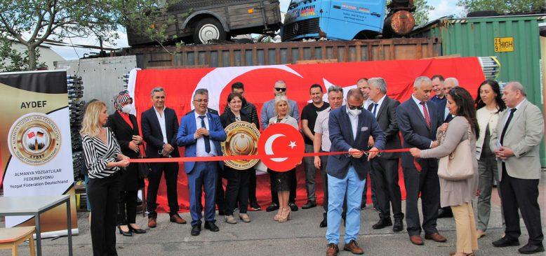 AYDEF Federasyonu Hamburg'da Resmi Açılışını Gerçekleştirdi