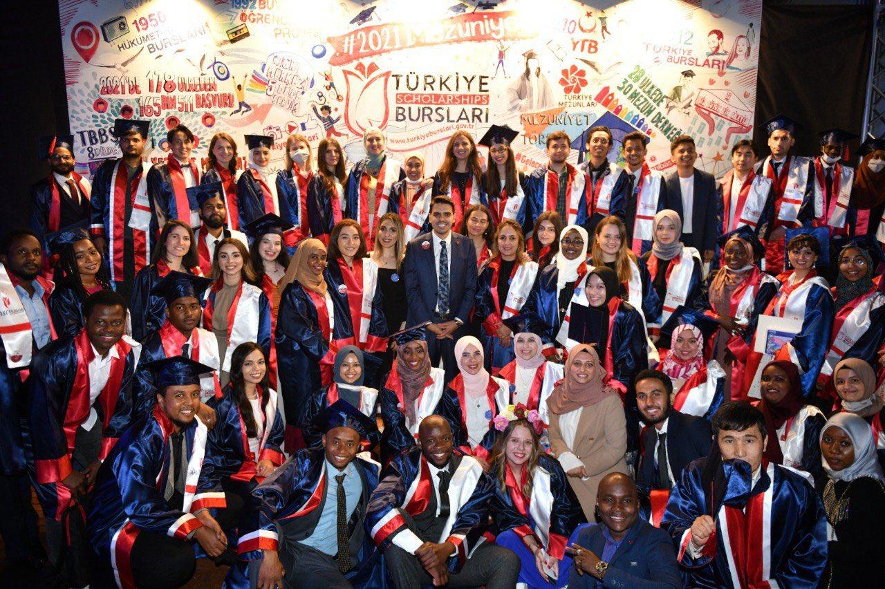 Uluslararası Öğrencilerin Mezuniyet Coşkusu