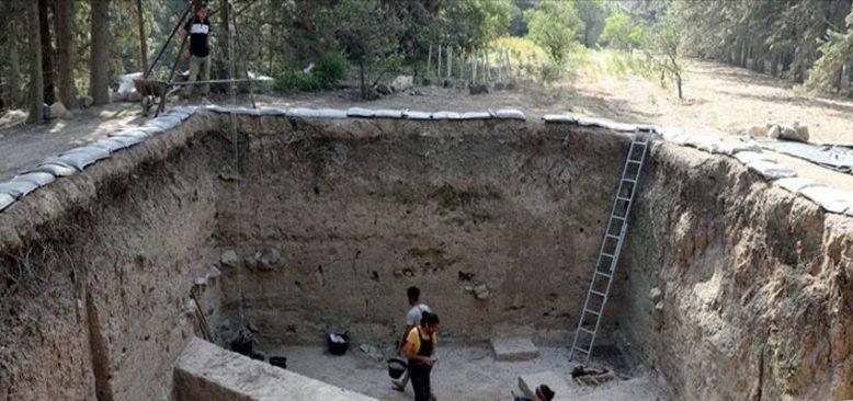 Aççana Höyük'te 4 bin yıl öncesine ait kalıntılar gün yüzüne çıkarılıyor