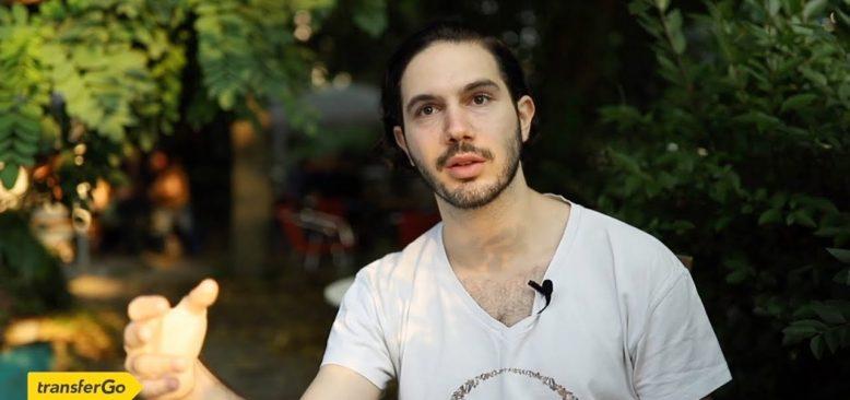 Barış Çatalbaş: Berlin'e geldim, mutluyum