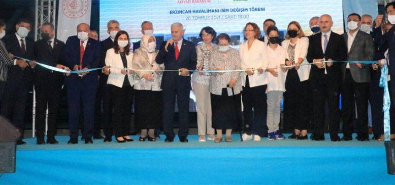 Yıldırım Akbulut'un ismi Erzincan Havalimanı'na verildi