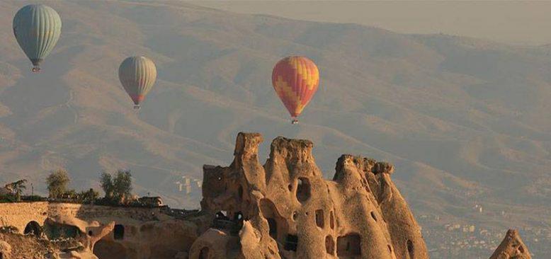 Kapadokya'yı haziranda 150 bin 282 yerli ve yabancı turist ziyaret etti