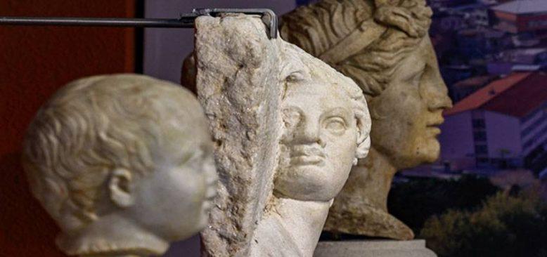 Roma döneminden kalma 'Satyros' kabartması restorasyon sonrası ziyaretçiyle buluşacak