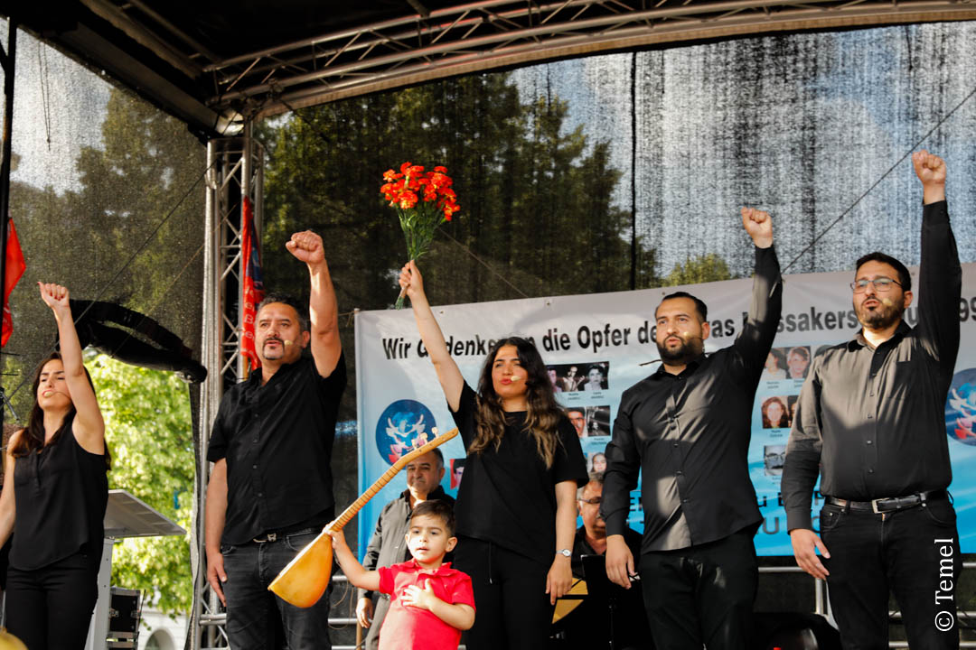 Berlin'de Sivas Katliamı anması