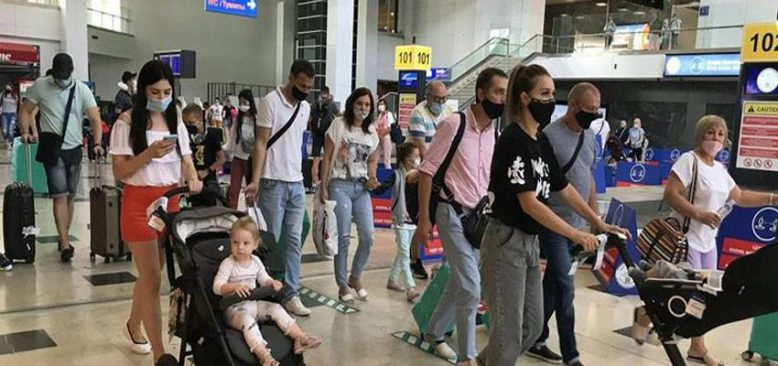 Antalya 9 günde yarım milyon yabancı turist ağırladı