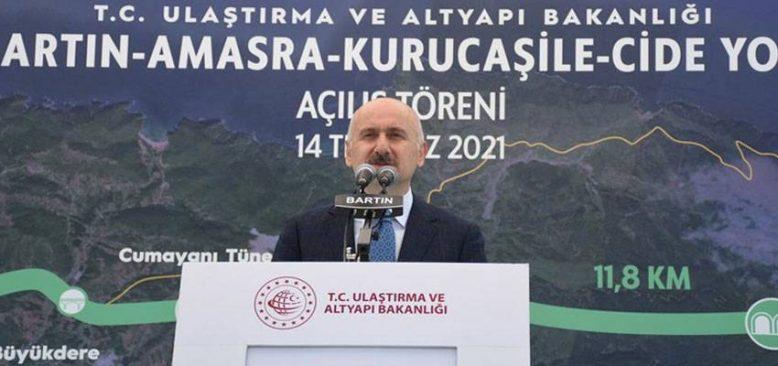 Türkiye, ulaştırma ve haberleşme alanında yatırımlarına var gücüyle devam edecek
