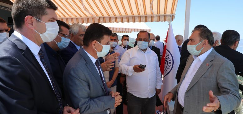 TBMM Komisyonu Burdur' Gölü'nü inceledi