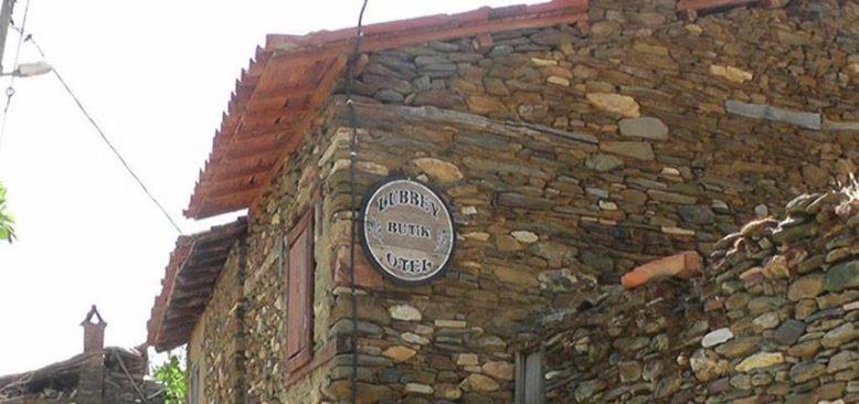 Anneannesinden kalma taş evi butik otele dönüştürdü