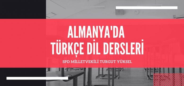 Almanya'da Türkçe dersi çağrısı