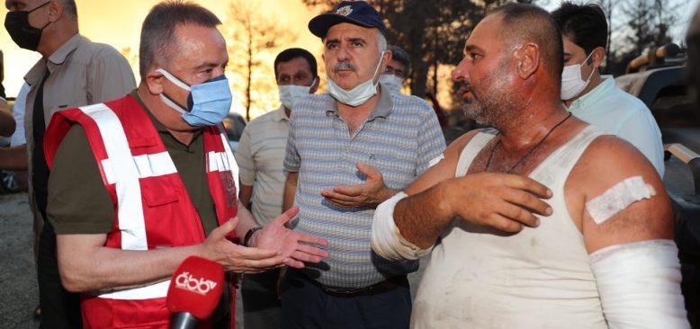 Antalya İş dünyası da yaraları sarıyor