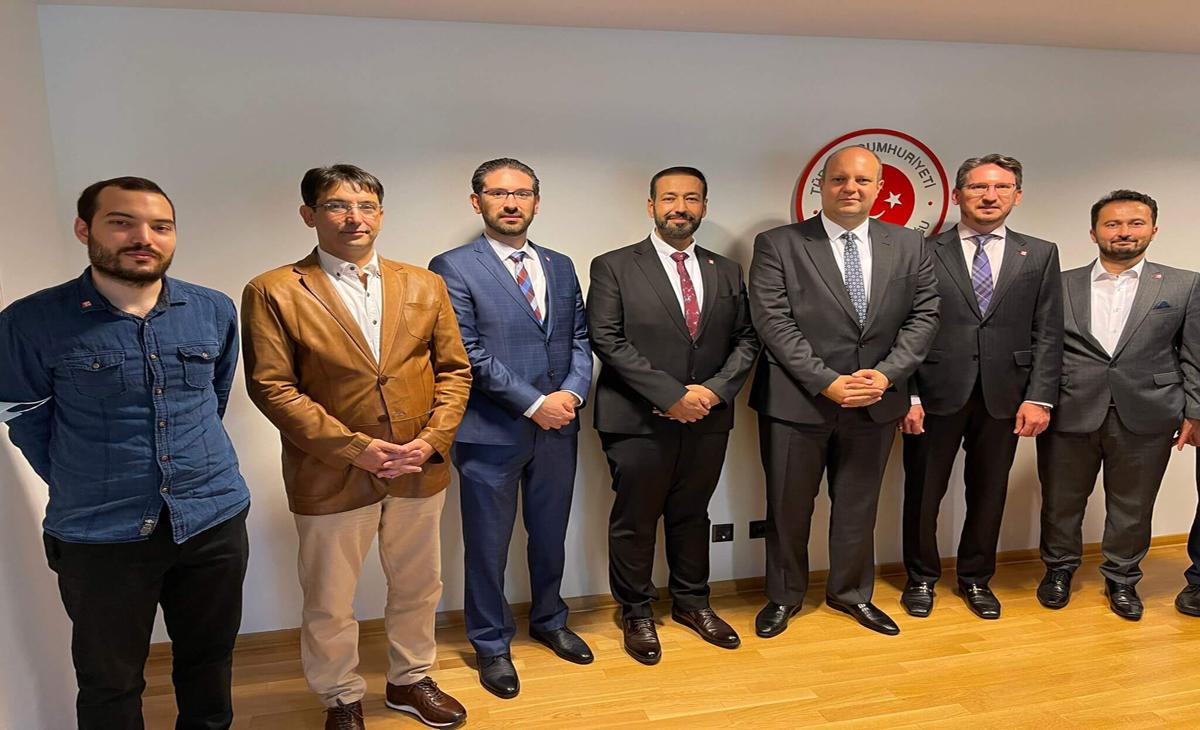 NETU Berlin Yönetimi T.C. Berlin Başkonsolos'u ziyaret etti