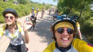 Hollandalı gezginler Kandıra sahillerinde pedal çevirdi