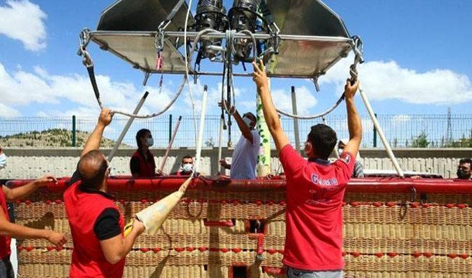 Kapadokya, sıcak hava balon üretimiyle ekonomiye katkı sağlayacak