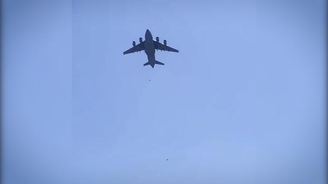 ABD doğruladı: Tahliye uçağında insan vücudu parçaları bulundu