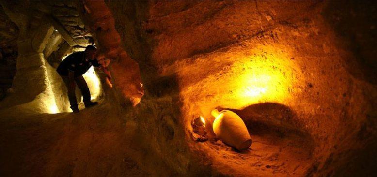 Kayaşehir'de ortaya çıkarılan at ahırı müzeye dönüştürülüyor