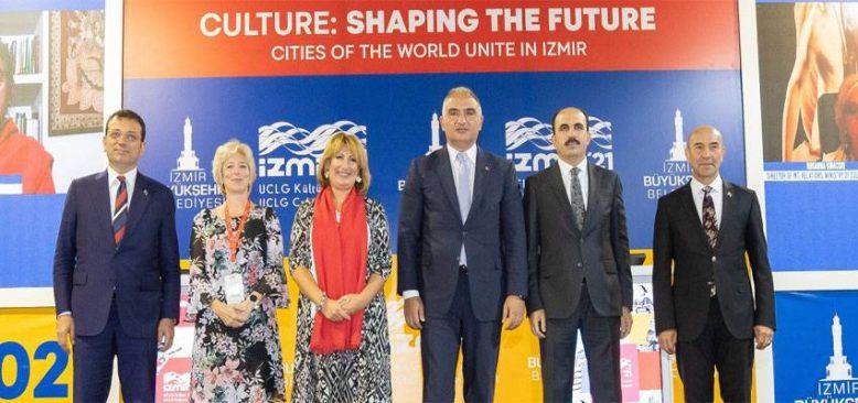 Başkan Soyer Uluslararası İzmir Kültür Zirvesi'nde konuştu