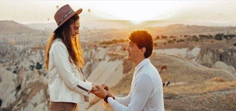 Cedi Osman evlilik teklifi için Kapadokya'yı seçti