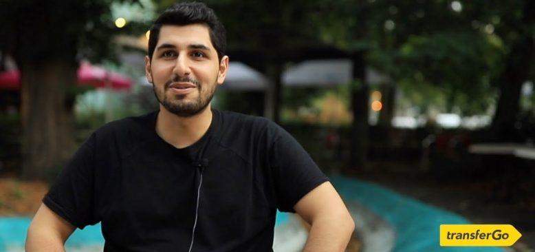 Suriyelilerden kaçıp Almanya'ya gelen Antepli Sezai'nin hikayesi