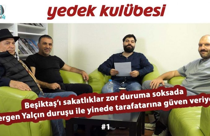 Beşiktaş'ta çok sakatlık var ama Sergen Yalçın dert yanmıyor