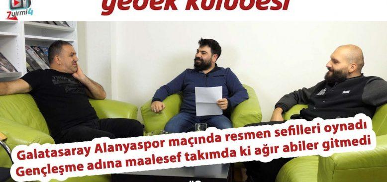 Galatasaray resmen sefilleri oynadı