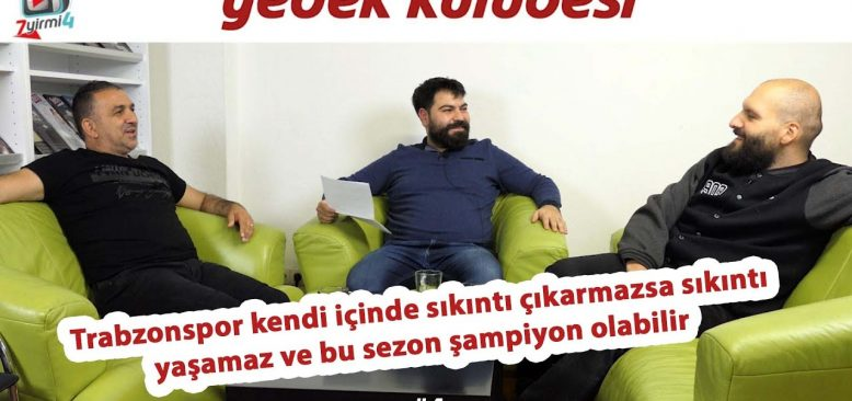 Trabzonspor kendi bacağına sıkmazsa şampiyon olur