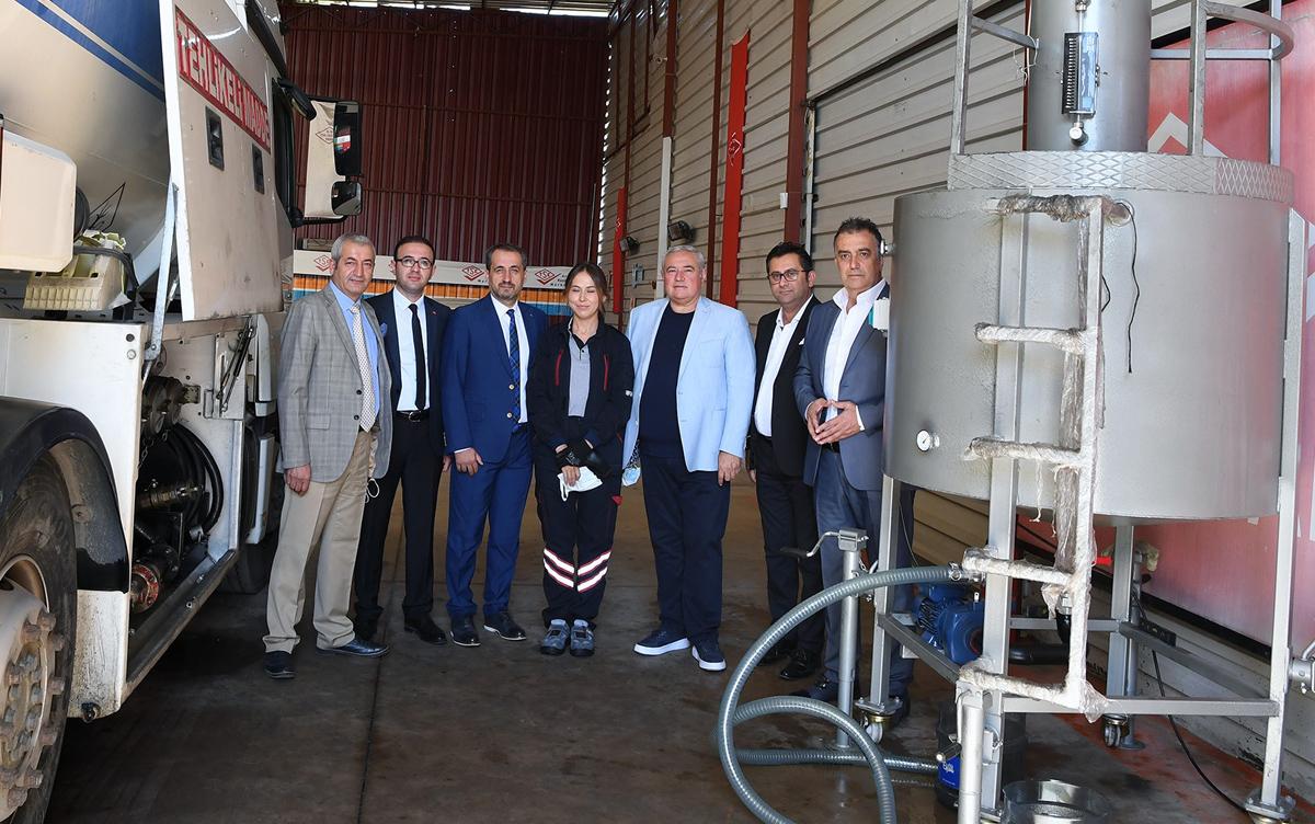 ATSO Antalya'da akaryakıt tanker hacim ölçek kabı sorununu çözdü