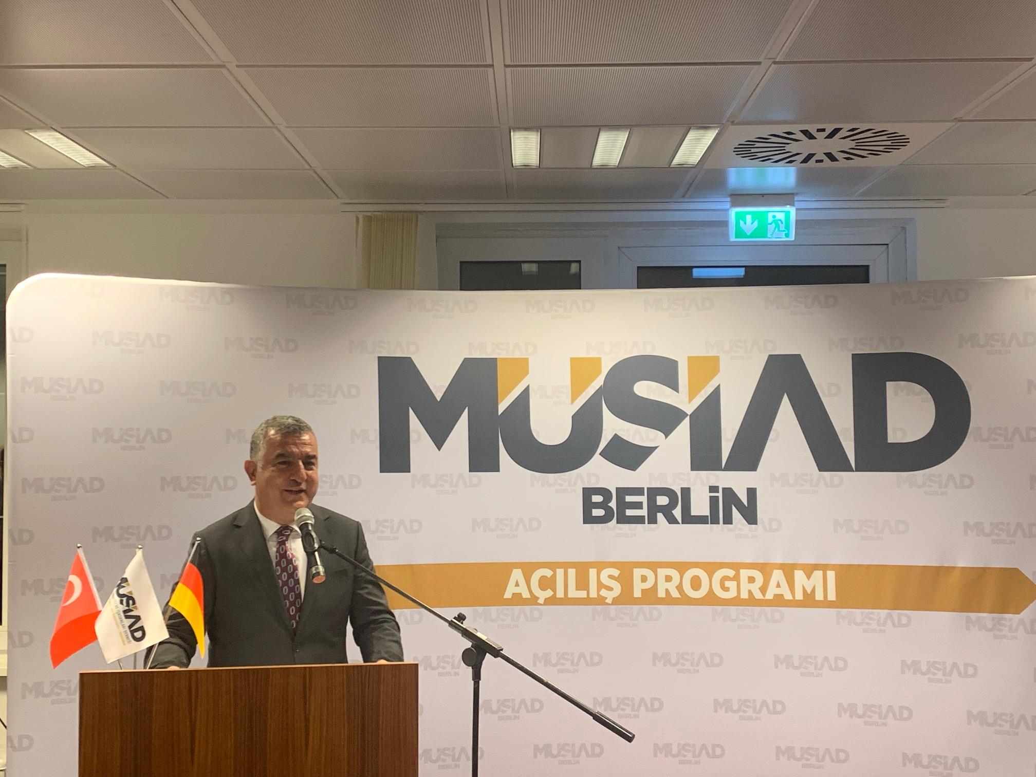 Büyükelçi Şen: Almanya ile ekonomik iş birliğimiz Türkiye için büyük önem taşıyor