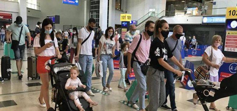 Antalya'ya gelen turist sayısı 8 milyonu aştı