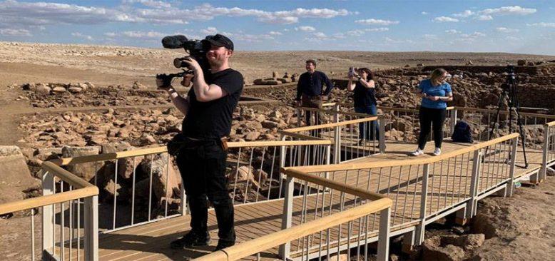 Şanlıurfa'da tarih belgeseli çekiliyor