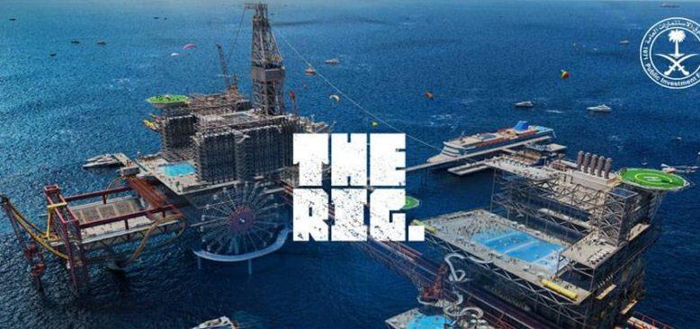 Dünyanın gözü 'The Rig'de!
