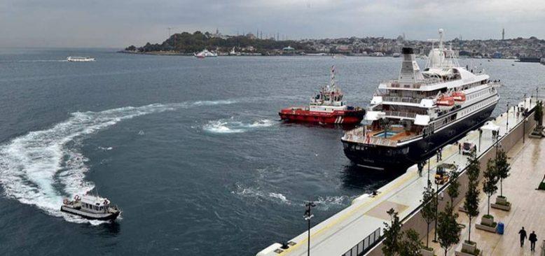 Galataport İstanbul ilk yolcu gemisini kruvaziyer terminalinde ağırlıyor