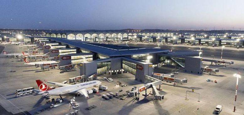 İstanbul Havalimanı günlük 986 seferle Avrupa'da 2. sırada yer aldı