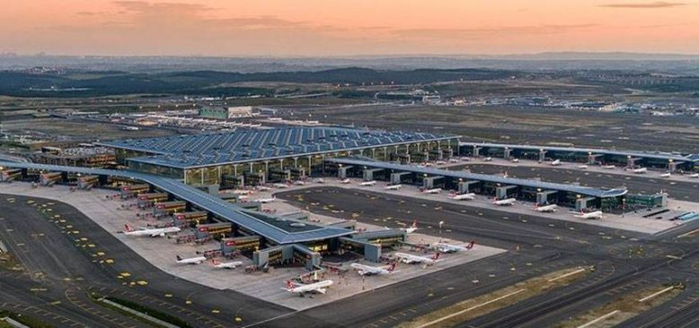 İstanbul Havalimanı'nda geçen ay 4 milyon 79 bin 363 yolcuya hizmet verildi