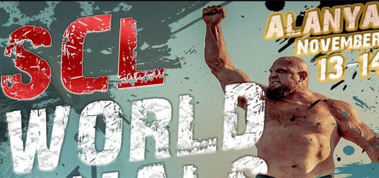 Strongman Şampiyonlar Ligi 2021 dünya finalleri Alanya´da yapılacak