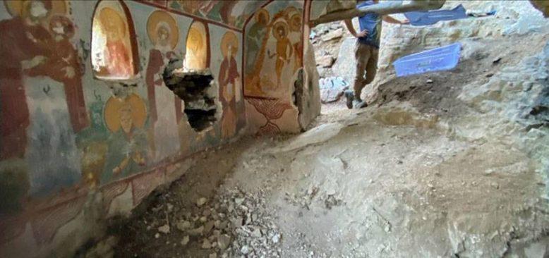 Sümela Manastırı kayalıklarındaki 'saklı şapeller' turizme kazandırılacak