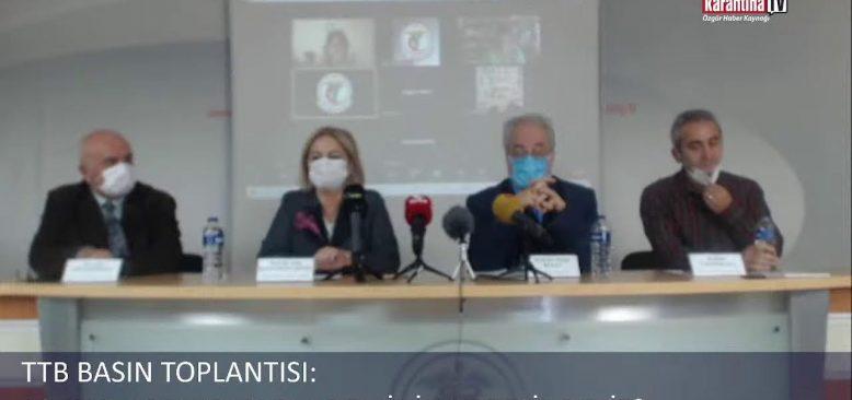 TTB Basın Toplantısı: 18 ayın ardından pandeminin neresindeyiz?