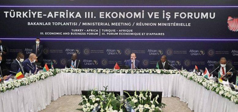 Türkiye-Afrika Ekonomi ve İş Forumu'ndan ortak bildiri