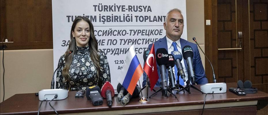 Türkiye ile Rusya arasında 'Ortak Turizm Eylem Planı' imzalandı