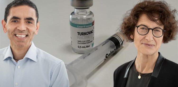 Uğur Şahin ve Özlem Türeci'den Turkovac aşısı açıklaması