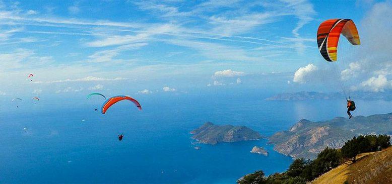 Yamaç paraşütünün 'en iyi akrobasi pilotları' Fethiye'de buluşacak