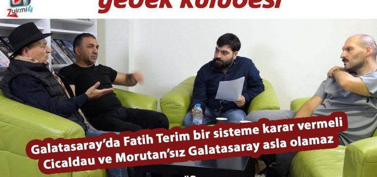 Galatasaray'da oyuncu gurubu ve oyun sistemi oturmalı